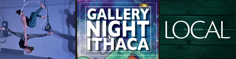 First Night Friday - Gallery Night Ithaca