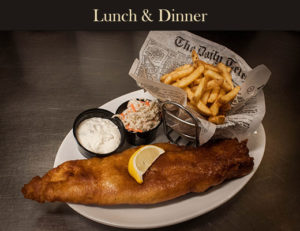 Kilpatrick's Irish Pub Menu: Fish & Chips