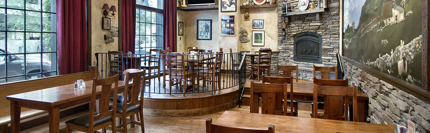 Kilpatrick's Irish Pub - Seating and stage area
