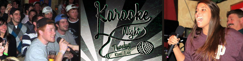 Thursday Event: Karaoke - Downtown Ithaca NY